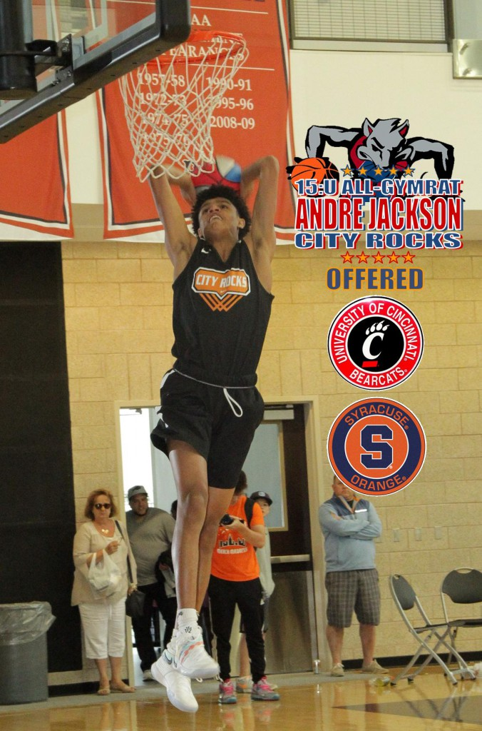 ANDRE JACKSON-CITY ROCKS-15U-ALL-CINCINNATI-CUSE