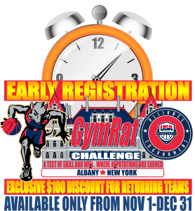 GymRat Early Registration