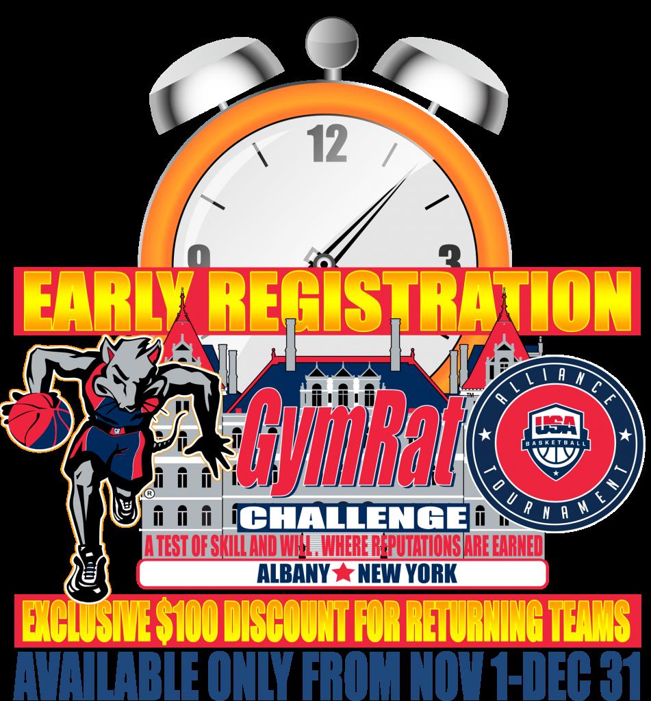 GymRat Early Registration
