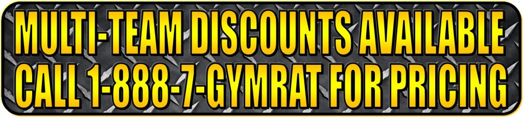 GymRat Challenge Multi-Team Discounts