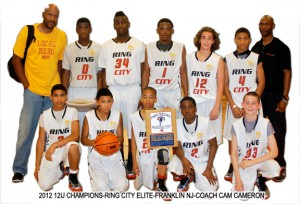 2012-12U-CHAMPIONS-RING-CITY-ELITE-FRANKLIN-NJ-COACH-CAM-CAMERON