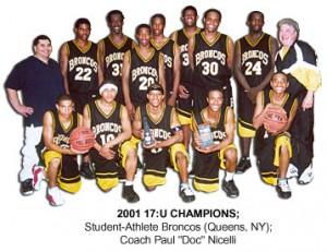 2001-GRC-Broncos-TEAM