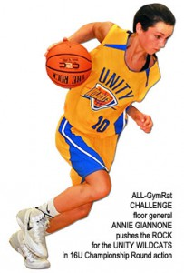 18-ANNIE-GIANNONE-pushes-the-ROCK-for-the-UNI