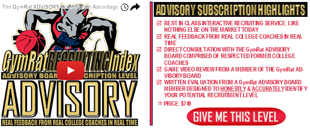 Recruiting Index Advisory Level