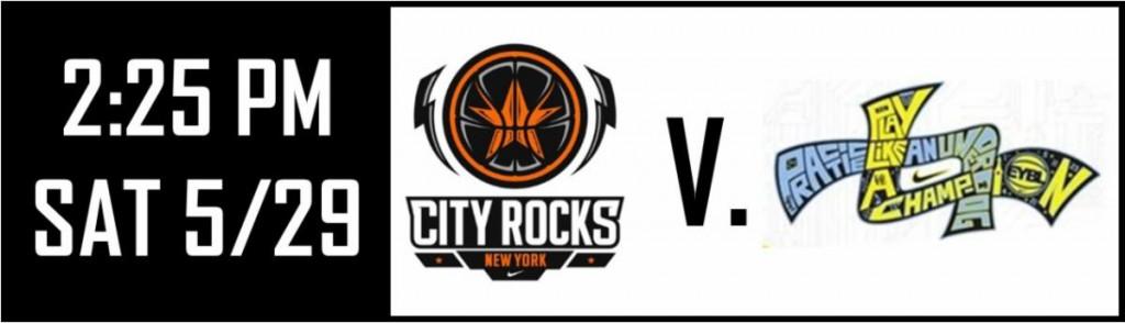 CITY ROCKS v TEAM FINAL